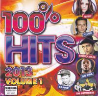 Cover  - 100% Hits 2013: Volume 1