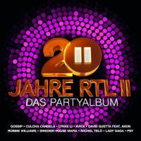 Cover  - 20 Jahre RTL II - Das Partyalbum
