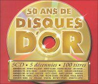 Cover  - 50 ans de disques d'or