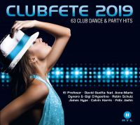 Cover  - Clubfete 2019 - 63 Club Dance & Party Hits