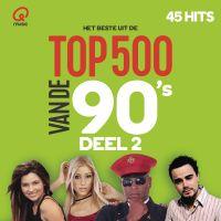Cover  - Het beste uit de Q Music Top 500 van de 90's (2016)