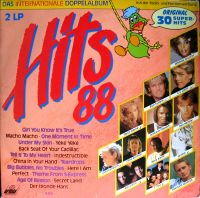 Cover  - Hits 88 - Das internationale Doppelalbum