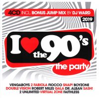 Cover  - I Love The 90's - The Party 2019