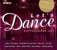 Cover  - Let's Dance - Das Tanzalbum 2017