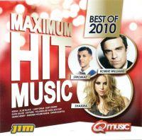 Cover  - Maximum Hit Music - Best Of 2010