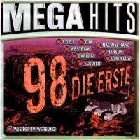 Cover  - Megahits 98 - Die Erste