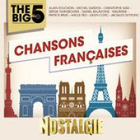 Cover  - Nostalgie The Big 5 - Chansons françaises