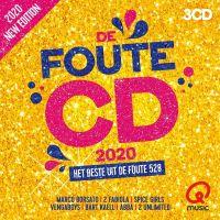 Cover  - Qmusic - De Foute CD 2020