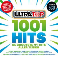 Cover  - Ultratop - 1001 Hits Volume 6