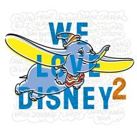 Cover  - We Love Disney 2