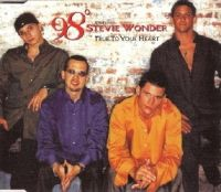 Cover 98° feat. Stevie Wonder - True To Your Heart
