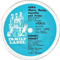 Cover ABBA - Honey Honey