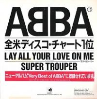 Cover ABBA - Lay All Your Love On Me