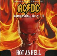 Cover AC/DC - Hot As Hell - Broadcasting Live 1977-'79