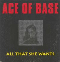 Cover Ace Of Base - All That She Wants