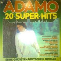 Cover Adamo - 20 Super Hits - Seine grössten deutschen Erfolge