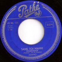 Cover Adamo - Sans toi ma mie