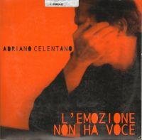Cover Adriano Celentano - L'emozione non ha voce