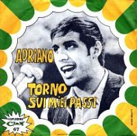Cover Adriano Celentano - Torno sui miei passi