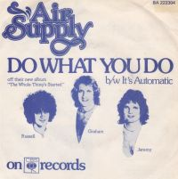 Cover Air Supply - Do What You Do