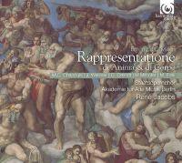 Cover Akademie für Alte Musik Berlin / René Jacobs - Rappresentatione di anima & di corpo