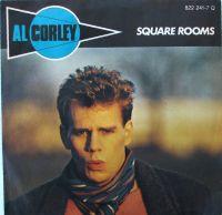 Cover Al Corley - Square Rooms
