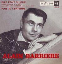 Cover Alain Barrière - Elle était si jolie