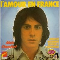 Cover Alain Chamfort - L'amour en France