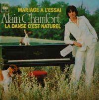 Cover Alain Chamfort - Mariage à l'essai