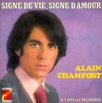 Cover Alain Chamfort - Signe de vie, signe d'amour