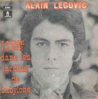 Cover Alain Legovic - J'aime la vie