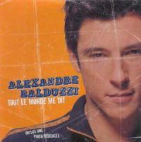 Cover Alexandre Balduzzi - Tout le monde me dit