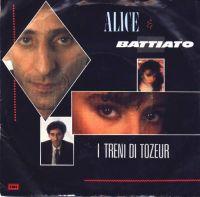 Cover Alice & Battiato - I treni di Tozeur