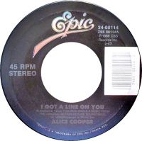 Cover Alice Cooper - I Got A Line On You