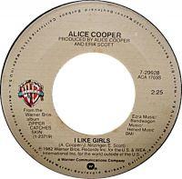 Cover Alice Cooper - I Like Girls
