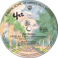 Cover Alice Cooper - Love At Your Convenience