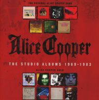 Cover Alice Cooper - The Studio Albums 1969-1983