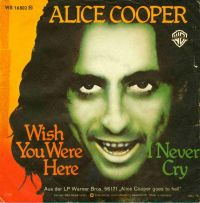 Cover Alice Cooper - Wish You Were Here