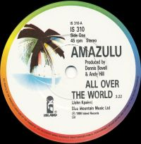 Cover Amazulu - All Over The World