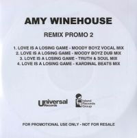Cover Amy Winehouse - Love Is A Losing Game