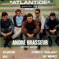 Cover André Brasseur & His Multisound Organ - Atlantide