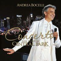 Cover Andrea Bocelli - Concerto - One Night In Central Park