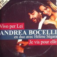 Cover Andrea Bocelli & Hélène Ségara - Vivo per lei - Je vis pour elle