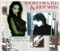 Cover Andrea Bocelli & Judy Weiss - Vivo per lei - Ich lebe für sie