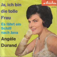 Cover Angèle Durand - Ja, ich bin die tolle Frau