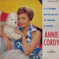 Cover Annie Cordy - À la pétanque