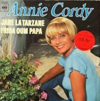 Cover Annie Cordy - Jane la Tarzane