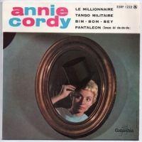 Cover Annie Cordy - Le millionnaire