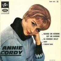 Cover Annie Cordy - Quand un homme est un homme