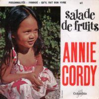 Cover Annie Cordy - Salade de fruits